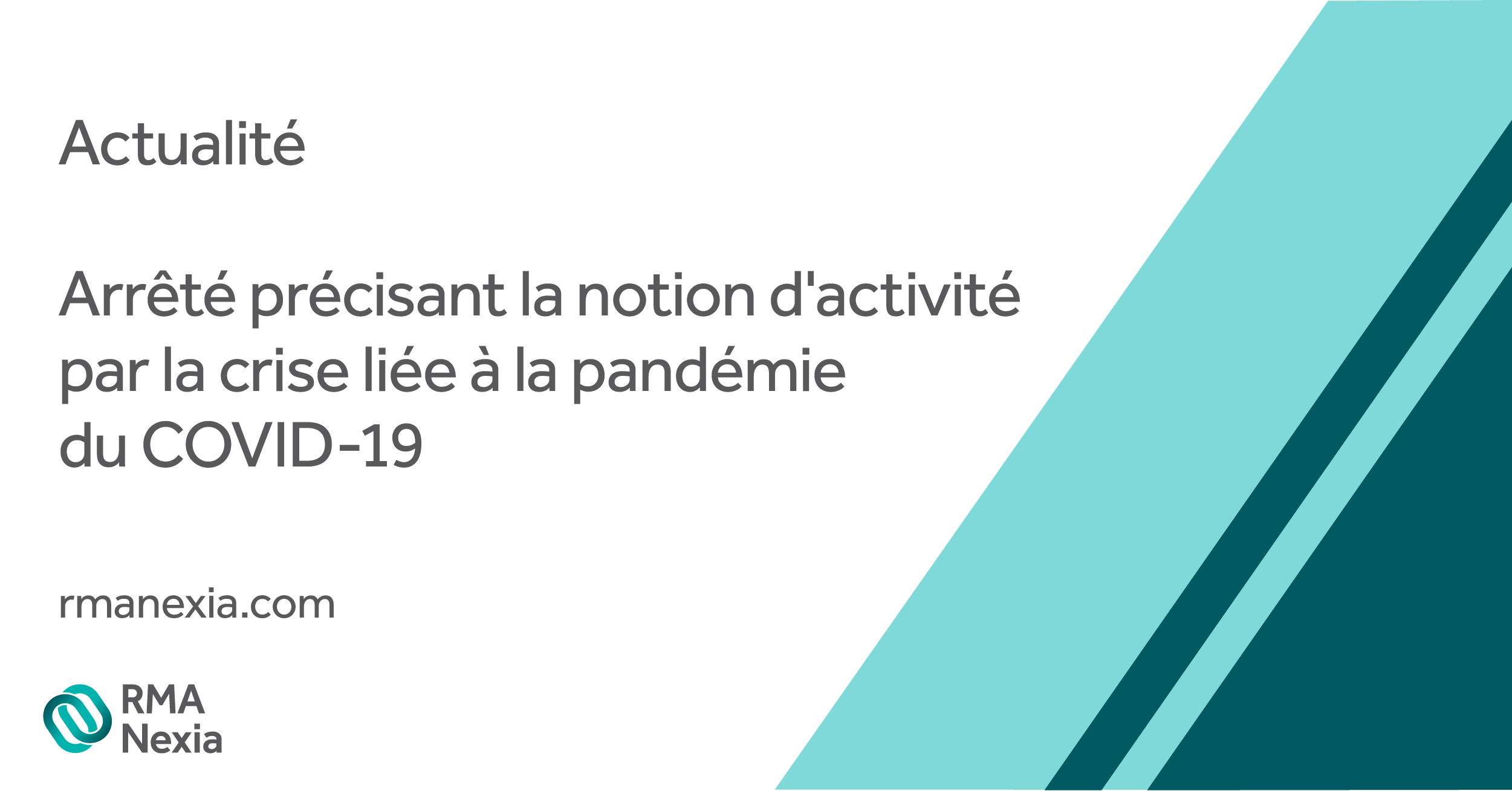 Arrêté précisant la notion d'activité directement impactée la crise liée à la pandémie du COVID-19 et les modalités d'allocation de la subvention prévue par l'article 185 bis du CGI